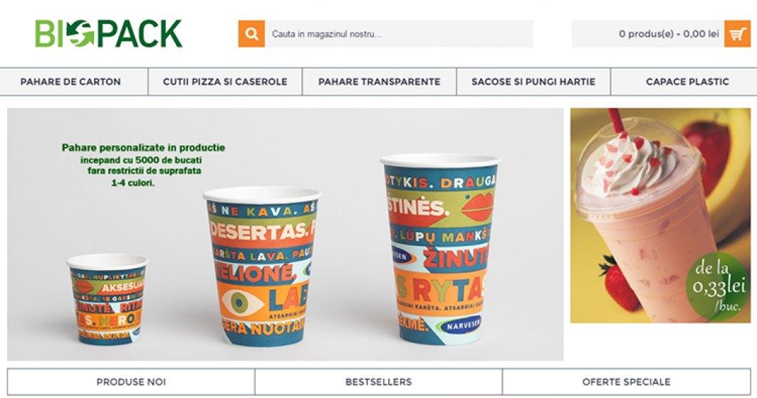 De la un restaurant-pizzerie, la zeci de mii de euro din ambalaje
