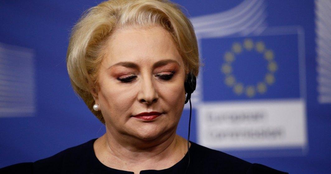 In fata opozitiei lui Iohannis, Dancila ia in calcul restructurarea guvernului in Parlament