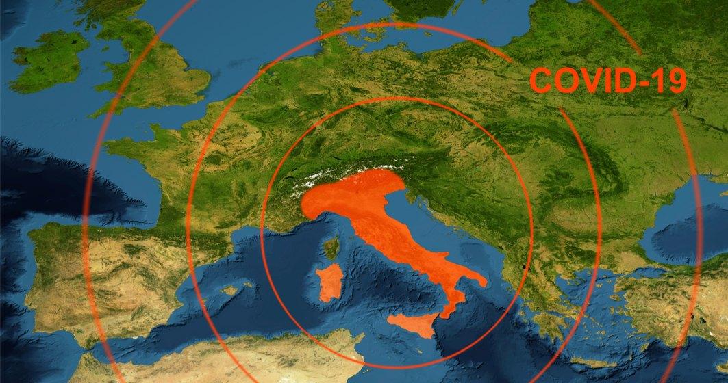 Coronavirus   Italia nu reușește să reducă numărul deceselor zilnice