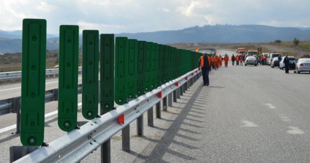Autostrada Orastie - Sibiu a fost redeschisa. Traficul a fost reluat fara restrictii