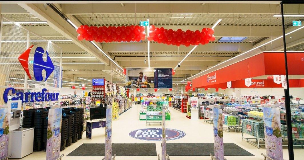 Carrefour deschide primul magazin doar cu case self-scan