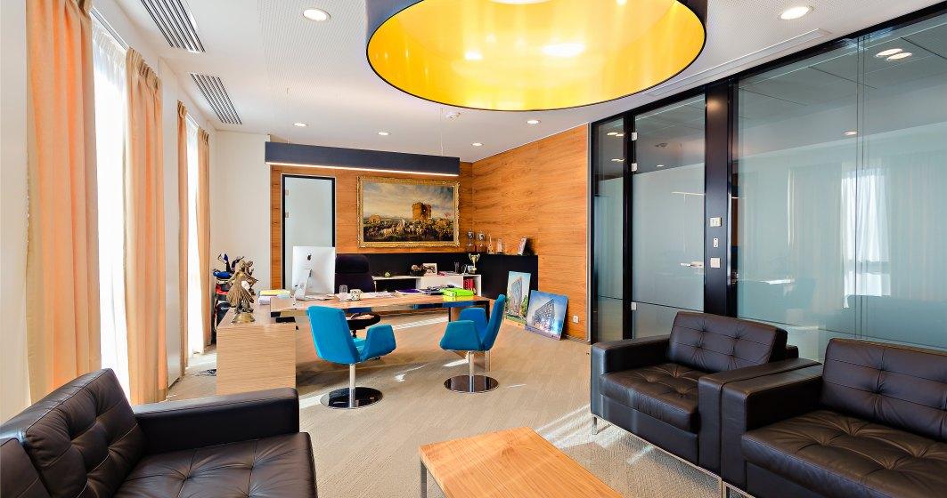 Un sediu desprins parca din cataloagele de arhitectura: cum arata birourile dezvoltatorului Forte Partners