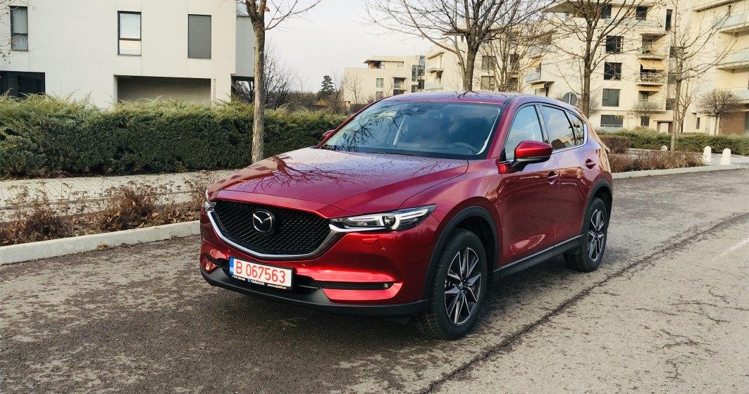 Test drive cu Mazda CX-5: doua tehnologii noi au ajuns pe SUV