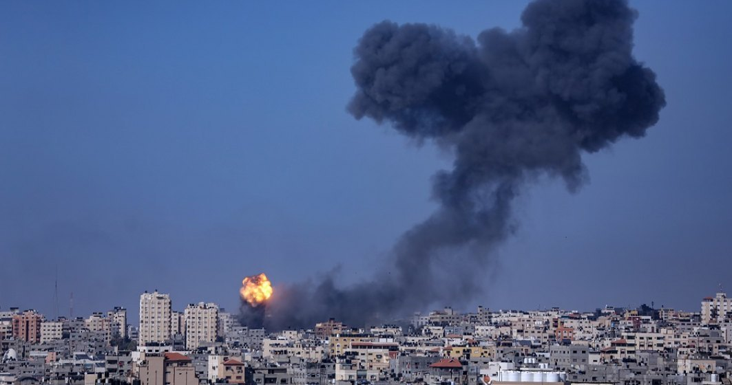 Israelul a efectuat 50 de bombardamente în 40 de minute împotriva Palestinei