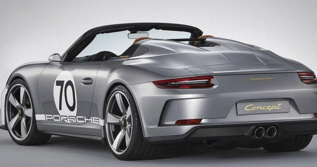 Conceptul Porsche 911 Speedster: poate cea mai buna idee de decapotabila!