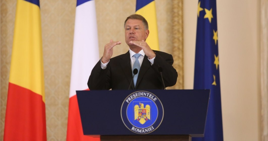 Președintele Klaus Iohannis a solicitat activarea Mecanismului de Protecție Civilă al UE