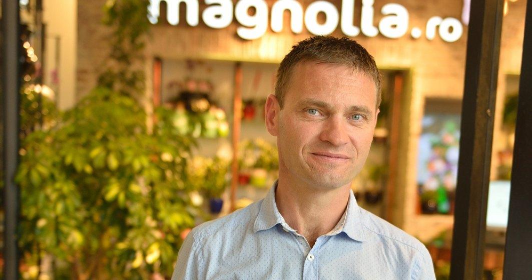 Gabriel Molnar, fondator florăriilor Magnolia: Am oprit demersurile de expansiune, pentru a ne axa pe magazinele existente