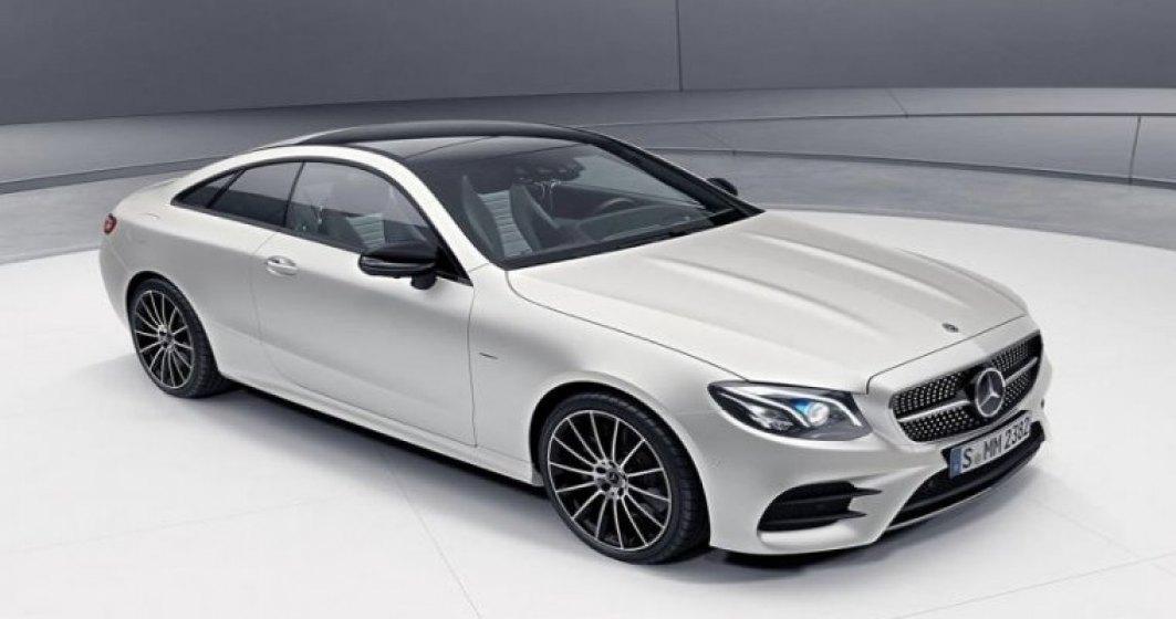 Mercedes-Benz Clasa E Coupe Edition 1 va fi produsa in 555 de exemplare