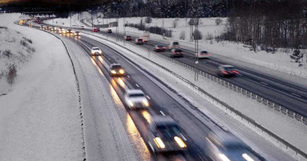 Drumuri si autostrazi din Romania pe care sa le ocolesti pe timp de ninsoare