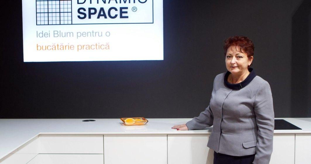 Manuela Soava, Blum Romania: 80% din productia de 2,4 mld. euro de mobilier pleaca la export
