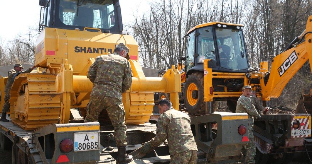 Armata a început construirea unui spital. În 5 zile va fi funcțional și va trata cazurile ușoare și medii de coronavirus