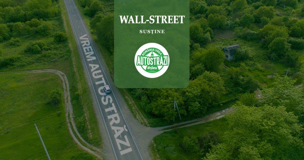 "Wall-Street.ro se alatura campaniei ""Romania vrea autostrazi"". Haideti si voi!"