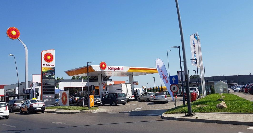 Rompetrol a inaugurat prima statie cu incarcare electrica din Bacau