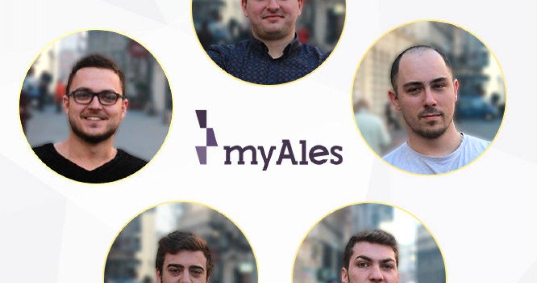 Cat investeste un start-up in marketing? myAles.ro intermediaza prestatorii de servicii cu beneficiarii