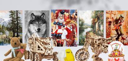 #WStories | Afacerea cu goblenuri, kit-uri de pictură și puzzle-uri, născută...