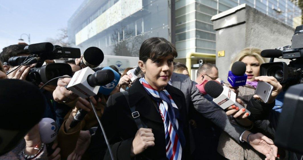 Laura Codruta Kovesi s-a prezentat la Politie in urma controlului judiciar: Sunt un procuror care le inspira teama celor care vor sa fure linistit in Romania