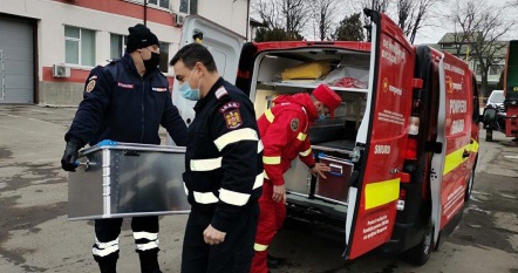 Fundația pentru SMURD dă în folosință 2 Centre Mobile de Pregătire a Paramedicilor
