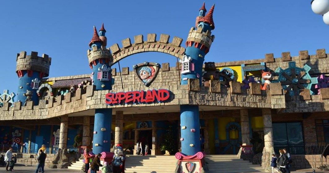 Superland, cel mai mare loc de joaca pentru copii din Romania