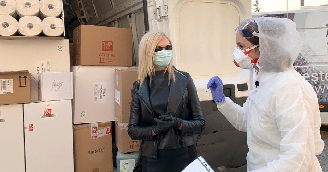 Coronavirus   Top Line a donat produse de 30.000 de euro campaniei de sprijinire a autorităților în lupta contra COVID-19