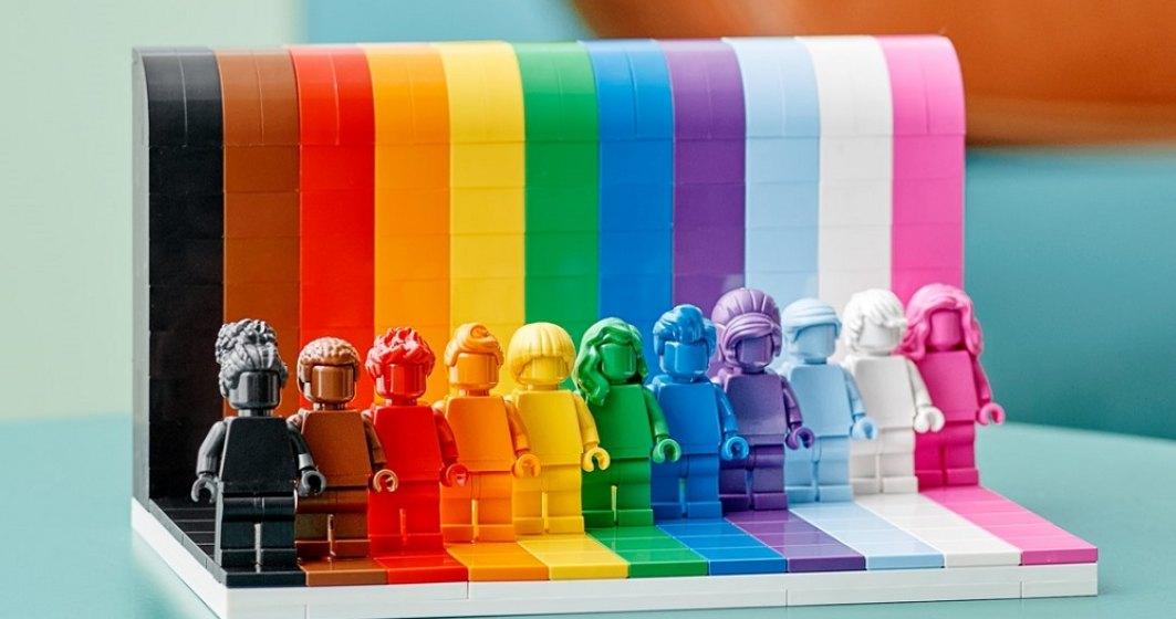 Lego lansează un nou set de jucării pentru a celebra comunitatea LGBT+