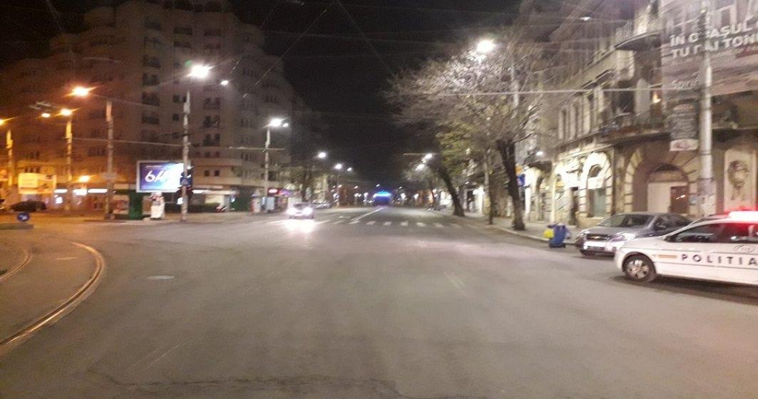 COVID-19 | Stare de Urgență: Cum arată Bucureștiul în serile de carantină totală