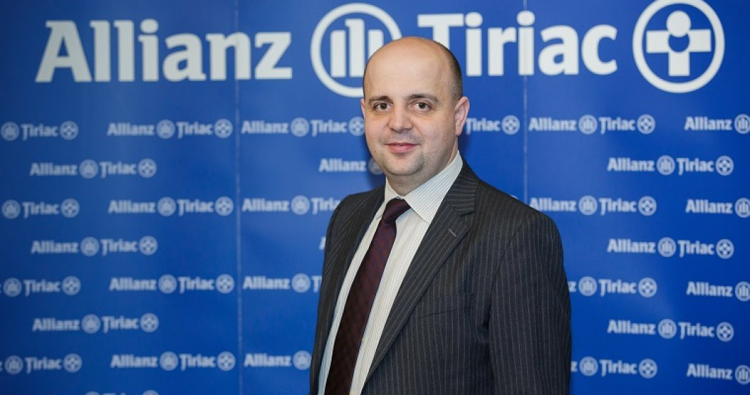 Allianz-Tiriac Asigurari are un nou CEO: Virgil Soncutean trece in locul lui Remi Vrignaud