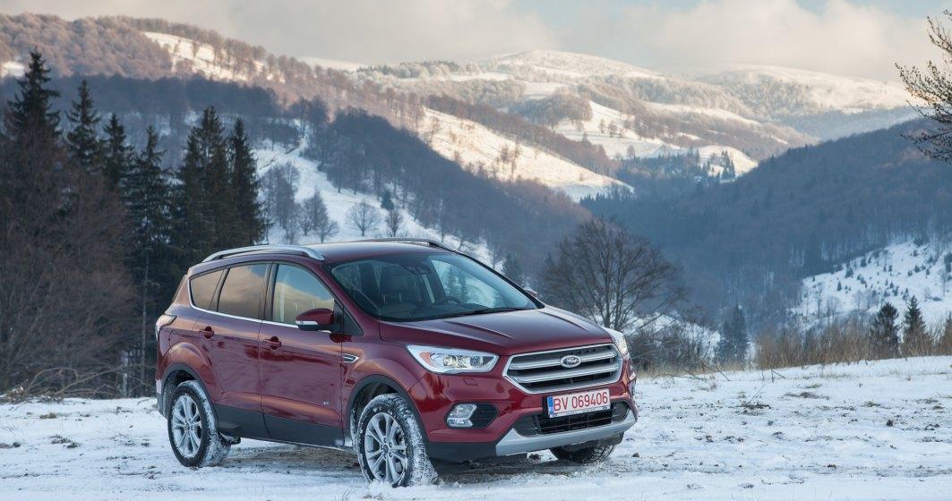 Pe drumuri de poveste cu Ford Kuga facelift AWD, test drive