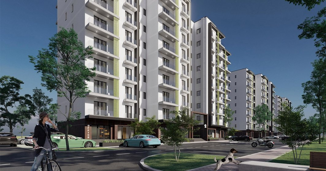Proiect rezidențial cu peste 380 de apartamente se ridică în sudul Constanței