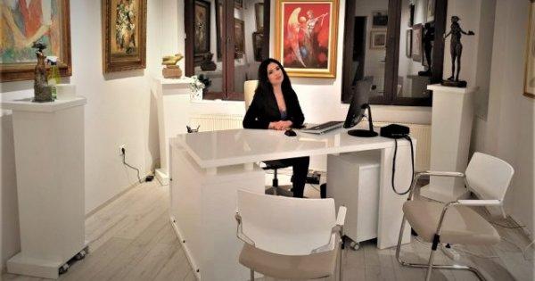 Cine este Luciana Stanciu, creatoarea casei de licitații de artă, Vikart,...