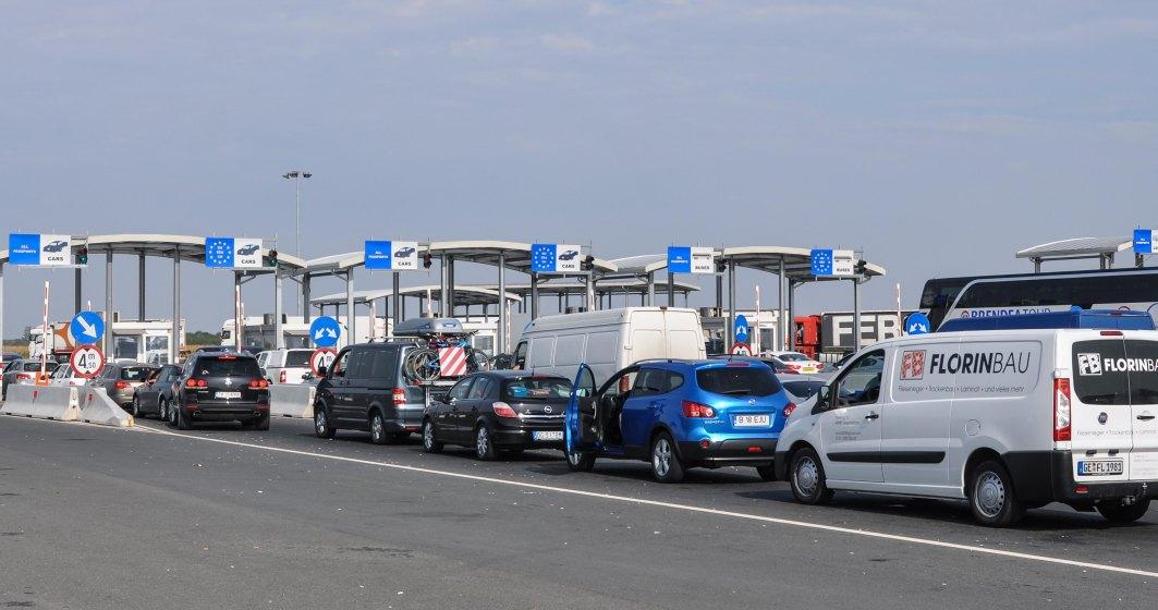Şoferii de camioane aşteaptă zece ore la frontiera Nădlac II pentru a intra în ţară