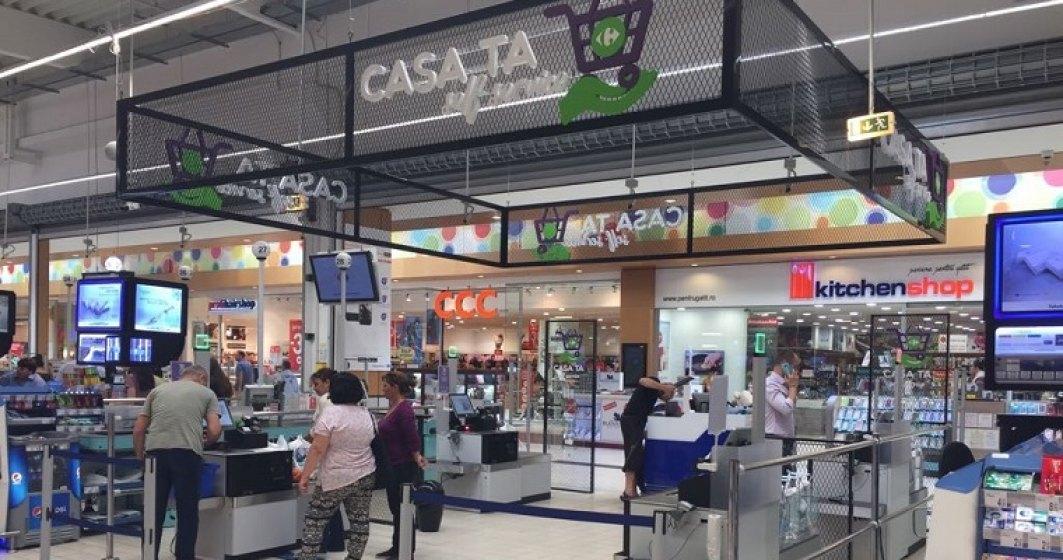 Carrefour lanseaza casa de marcat unde poti plati singur