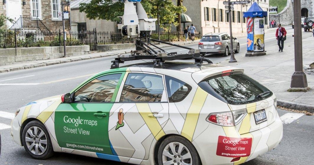 Maşinile Google Street View revin în România pentru actualizarea imaginilor din peste o sută de localităţi