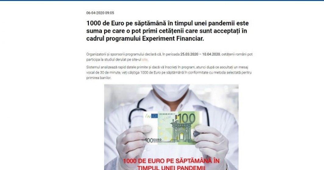 Imaginea unor instituții de presă, folosită în campanii SCAM online. CERT-RO avertizează!