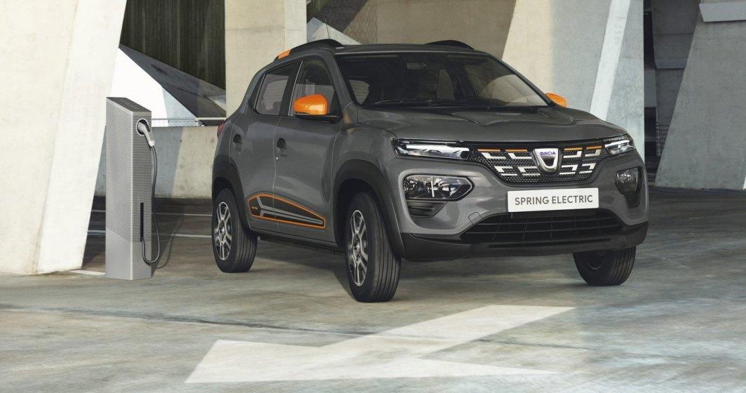 Dacia anunţă că modelul electric Spring va fi disponibil din septembrie 2021