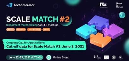Techcelerator dă startul celei de-a doua ediții a Scale Match, eveniment de...