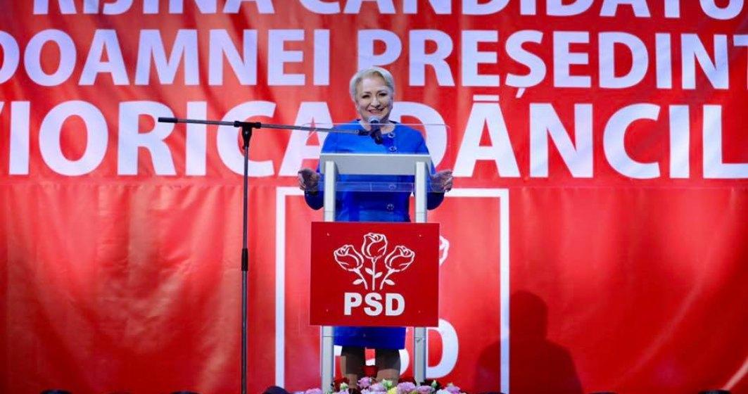 Viorica Dancila isi lanseaza candidatura la prezidentiale, la trei zile de la demiterea Guvernului sau prin motiune de cenzura