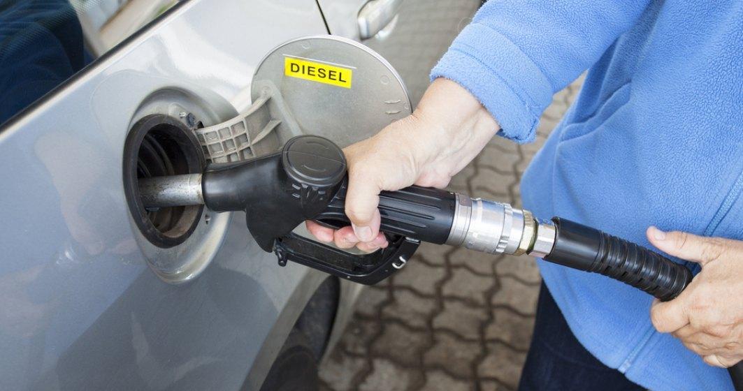 Un plin de benzina va fi mai scump cu 3-4 lei odata cu cresterea accizelor