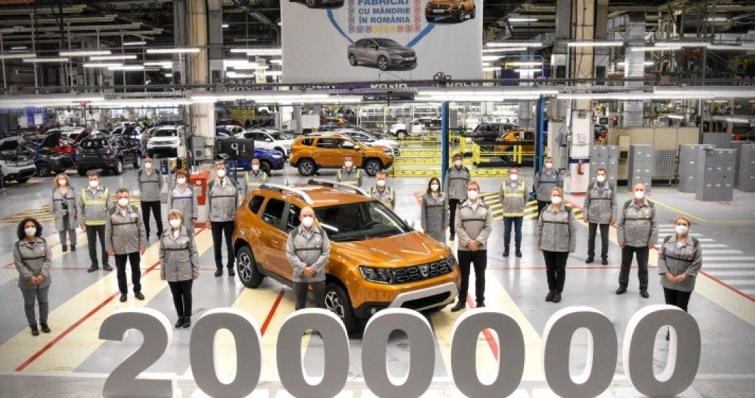 Uzina Dacia a produsmodelul Duster cu numărul 2.000.000