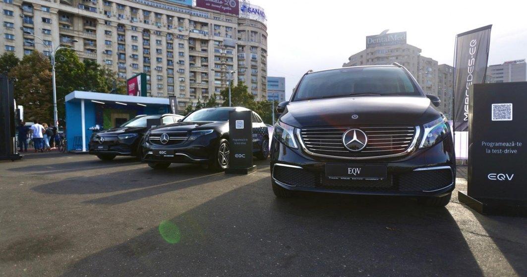 Mercedes-Benz deschide un Pop-Up Store în Piața Victoriei