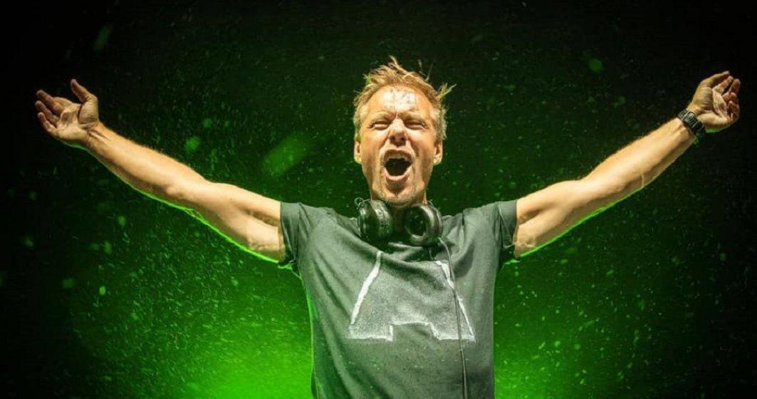 Armin van Buuren vine la București, pe 25 septembrie, la Sound of Bucharest