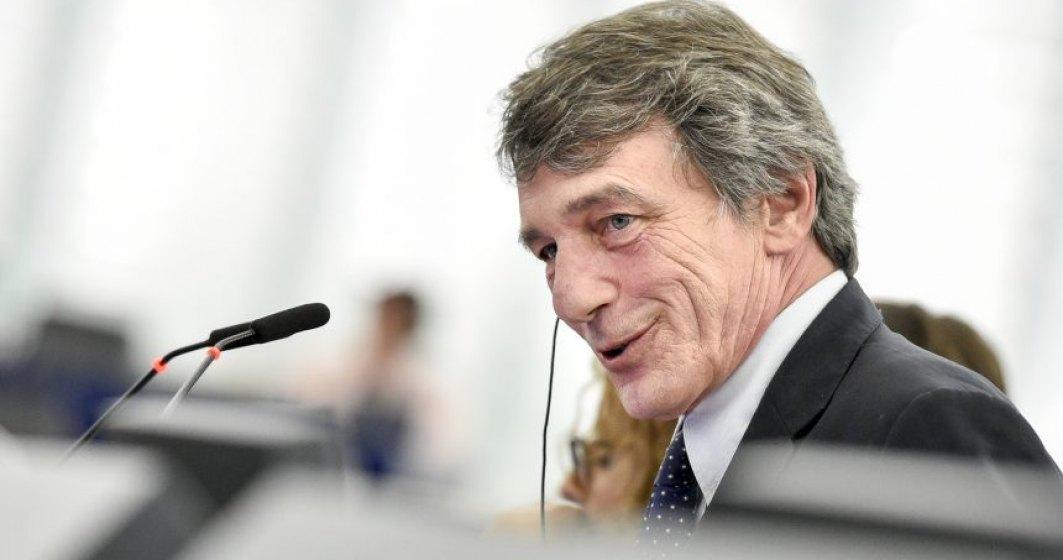 Coronavirus   Președintele Parlamentului European, în carantină din cauza coronavirus