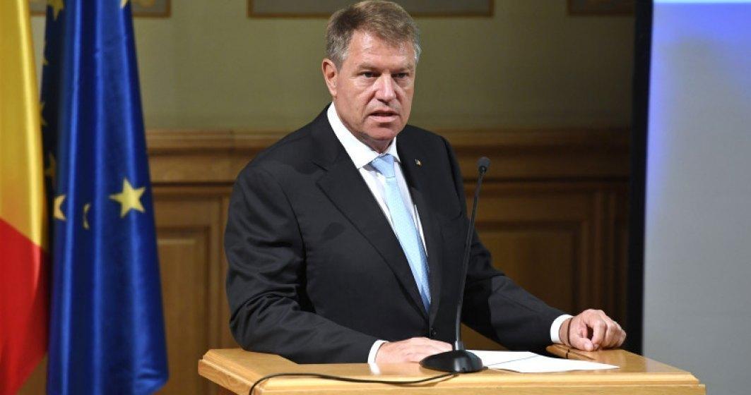 """Klaus Iohannis marcheaza ziua de 23 august cu apel pentru """"apararea statului de drept"""": Am putut observa o serie de atacuri lansate cu scopul de a fragiliza democratia"""