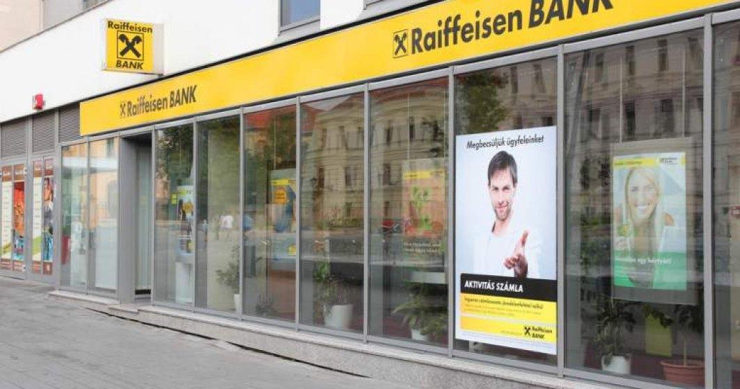 Raiffeisen Bank a obtinut un profit net de 212 milioane de lei in primul trimestru din 2018