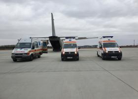 A început transferul bolnavilor COVID din România către Ungaria