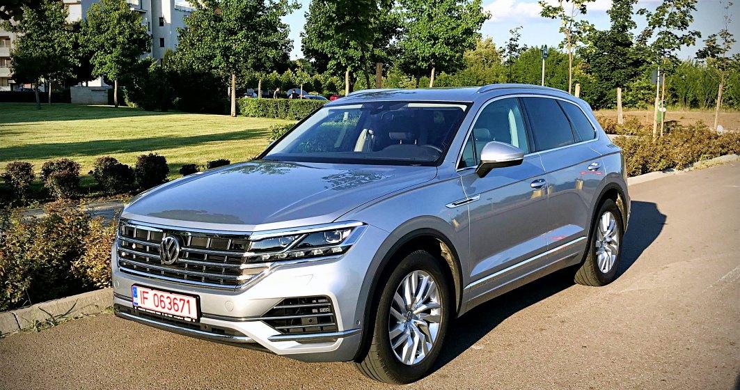 Test drive cu noul Volkswagen Touareg, o demonstratie ca dieselul nu va disparea