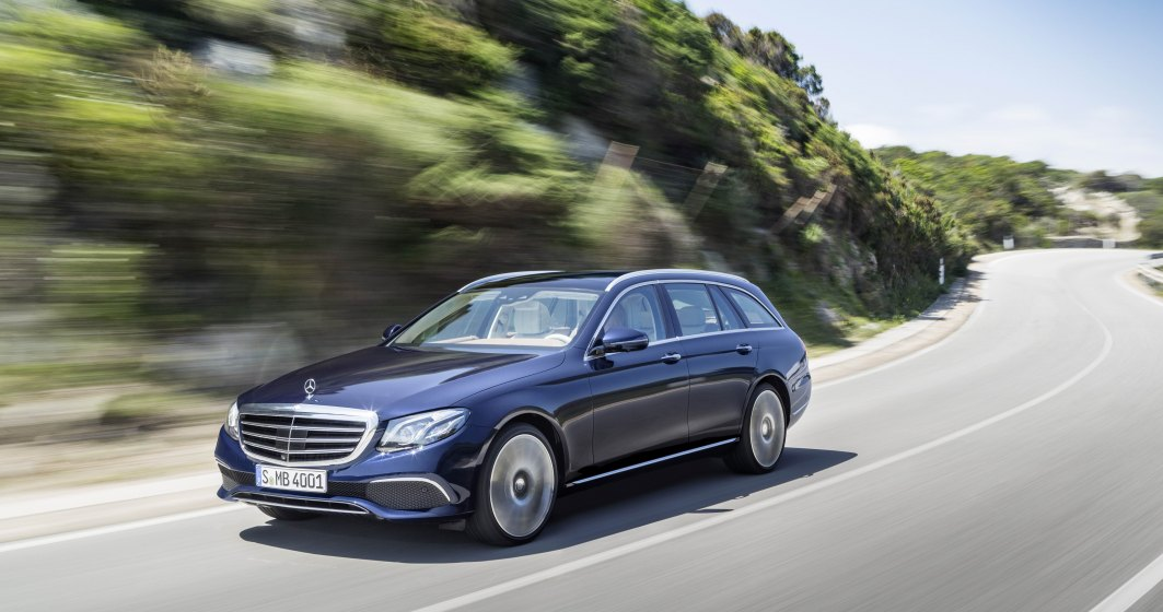 """Mercedes-Benz Clasa E Estate, primul break cu """"sofer inteligent"""" - test drive"""