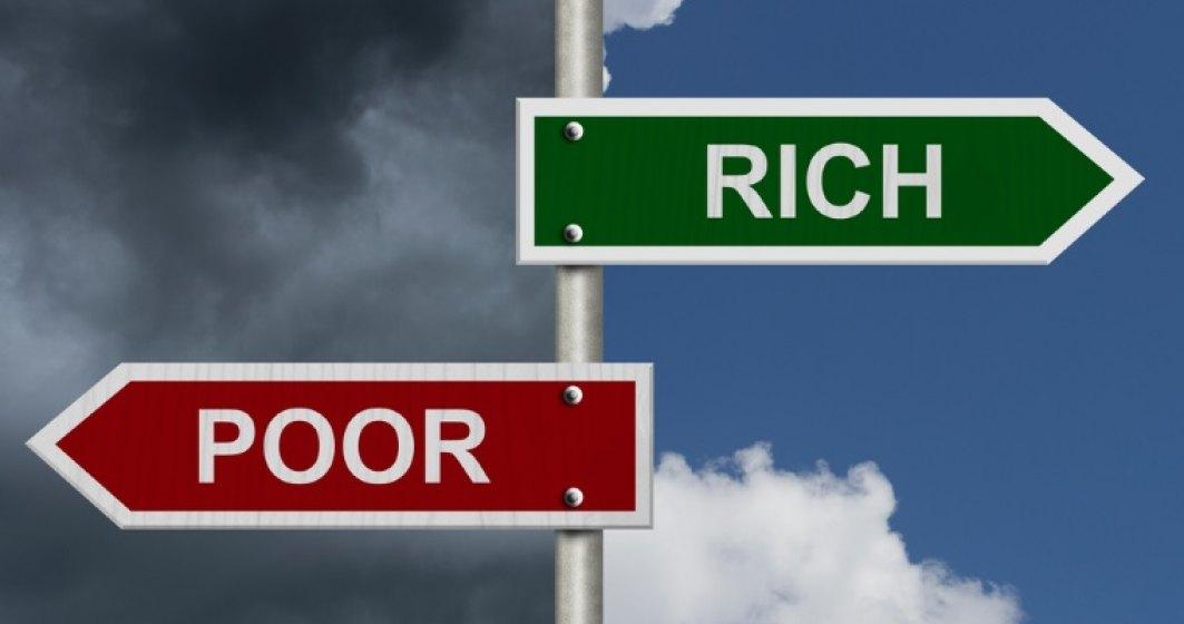 Romania, tara cu cea mai mare inegalitate dintre bogati si saraci din UE