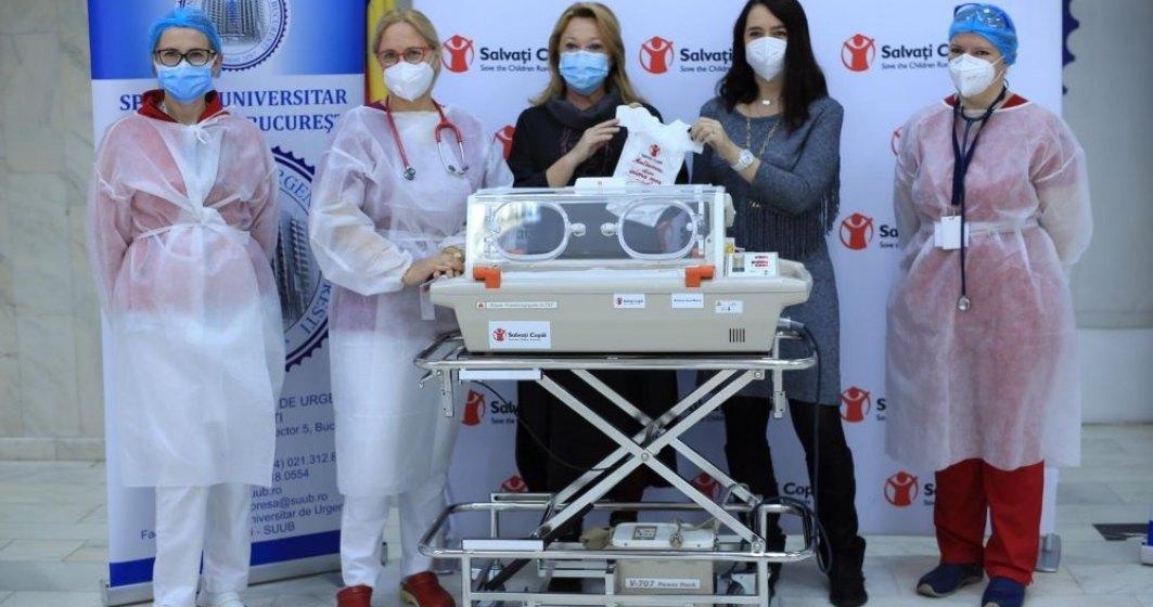 Salvați Copiii ajunge la Spitalul Universitar cu echipamente medicale de peste 36.000 de euro