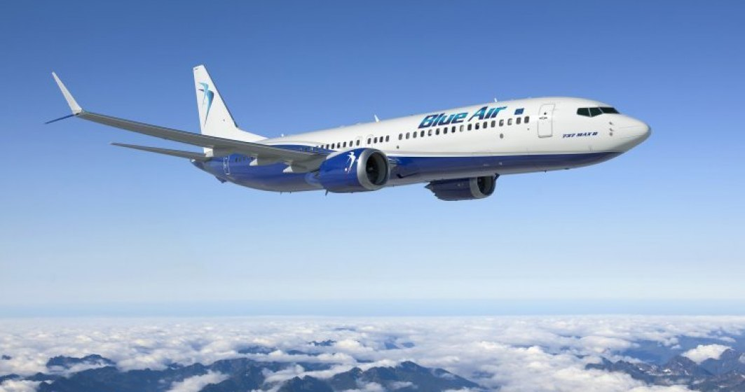 Un avion Blue Air care zbura pe ruta Cluj-Dublin a aterizat de urgenta