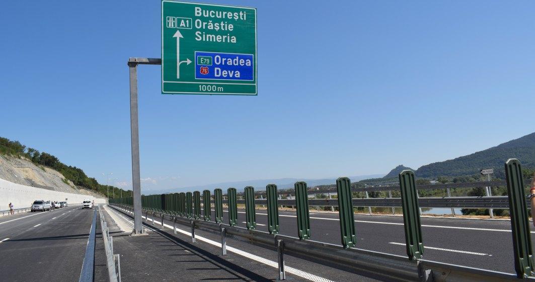 Lotul 4 al autostrazii Lugoj-Deva a fost dat in circulatie de Compania de Drumuri